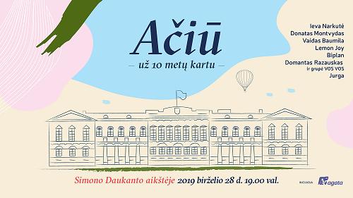 Paskutinį birželio penktadienį – padėkos D. Grybauskaitei koncertas