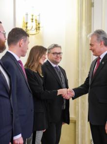 """Diskusija su Prezidentu G.Nausėda """"Kiek teisinga ir aiški yra mokesčių sistema?"""""""