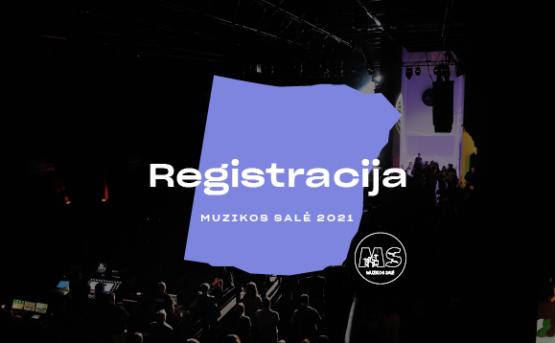 """Prasideda registracija į """"Muzikos salę"""" 2021"""