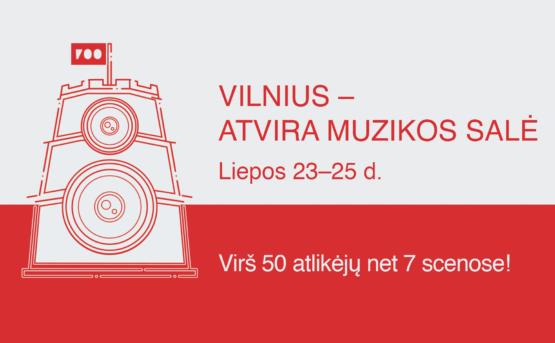 """""""Vilnius – atvira muzikos salė"""": koncertai vyks 7 miesto erdvėse"""